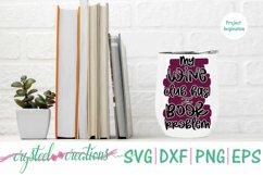Book Wine Bundle SVG, DXF, PNG, EPS Product Image 3