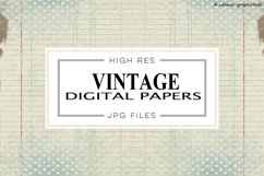Vintage Digital Papers Product Image 1
