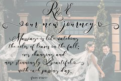 Billyra - Wedding Font Product Image 6