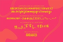 Web Font Cliff Athar - Modern Cute Font Product Image 5