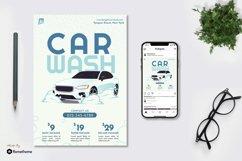 Bright Car Wash - Flyer & Instagram Post GR Product Image 1