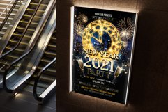 New Year Flyer Product Image 4