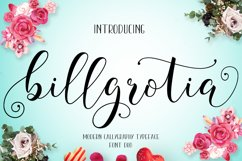Billgrotia Script Product Image 1