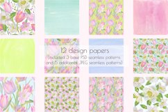 Floral Design Pack watercolor & pastel Product Image 3