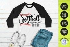 Softball Bundle Vol 1 | Set of 9 | SVG DXF EPS PNG Product Image 3
