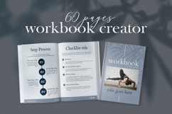 Workbook Canva Template, 60 Pages Ebook Template Lead Magnet Product Image 2