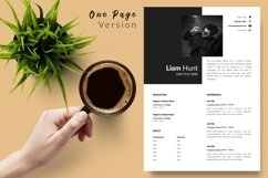 Modern Resume CV Template for Word & Pages Liam Hunt Product Image 2