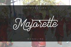 Majorette font Monoline Product Image 1