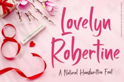 Handwritten Font - Lovelyn Robertine Product Image 1