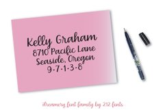 Dreamery Script and Sans Handwritten Feminine Font Trio Product Image 6