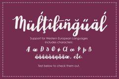 Wonderland, a modern calligraphy font Product Image 5