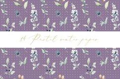 Pastel winter digital paper, seamless pattern Product Image 5