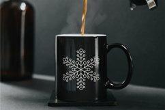 Glitter Snowflakes Bundle | Christmas | EPS PNG JPG Product Image 4