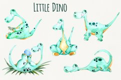Little Dino - Watercolor set Product Image 2
