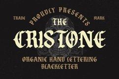 Cristone Blackletter Font Product Image 1