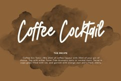 Koffiesta Handwritten Font Product Image 4