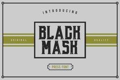 Black Mask Product Image 1