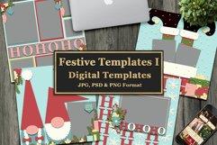 Festive Digital Templates Product Image 1