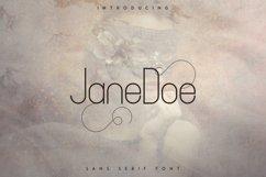 JaneDoe Sans Serif font Product Image 1