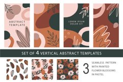 10 abstract vector pattern, 3 seamless pattern Product Image 2