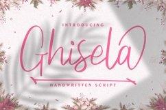 Ghisela | Handwritten Font Product Image 1