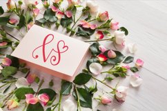Hearty Monograms - Font  Product Image 4