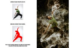 Color Smoke Photoshop Action Product Image 2