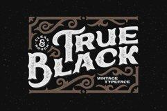 True Black typeface Product Image 1