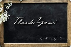 Krakatau Monoline Signature Font Product Image 6