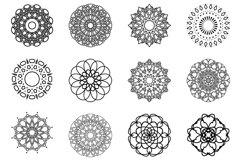 Mandala svg,Mandalas svg,Mandala Monogram Frame Product Image 2