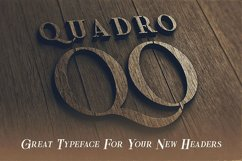 Quadro - Display Font Product Image 6