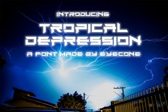 Tropical Depression Product Image 1