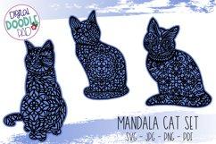 Mandala Cat SVG Set For Cricut & Silhouette Product Image 5