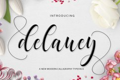 Delaney Script Product Image 1