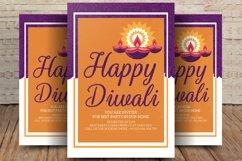 Burning Diya on Happy Diwali Holiday Product Image 1