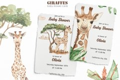 Giraffes. Watercolor collection Product Image 5
