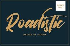 Roadistic | Script Font Product Image 1