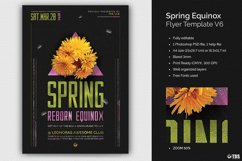 Spring Equinox Flyer Template V6 Product Image 1