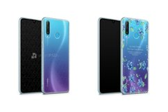 Huawei P30 Lite UV TPU Clear Case Mockup 2019 Front-Back Ang Product Image 1