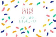 TABIR - font based on kid handwriting plus seamless pattern Product Image 3