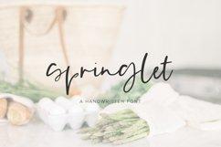 Springlet Script Product Image 1
