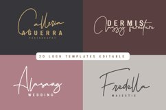 Hellena Jeslyn Signature Font Duo Free Logo Product Image 3