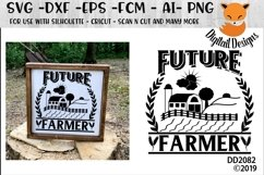 Future Farmer Rural Country Life SVG Product Image 1