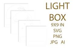 light Box SVG, Shadow Box, UNICORN Product Image 5