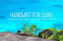 Handwritten Sans Product Image 1