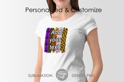 Brush stroke PNG, Halloween sublimation, Leopard Print Product Image 4