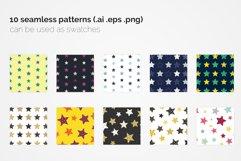 Stars Seamless Patterns Product Image 4