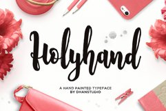 Holyhand Script Product Image 1
