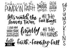 Fall Phrases Symbols Font Product Image 4
