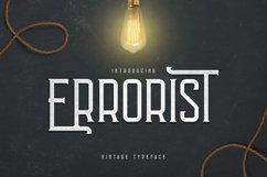 Errorist - Vintage Typeface Product Image 1